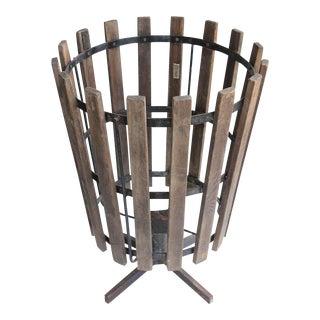 Giant Vintage Industrial Basket