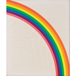 "Billy Apple ""Dayglo Rainbow"" Signed Serigraph, 1965"