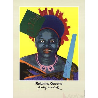 "Andy Warhol ""Queen Ntombi Twala of Swaziland From Reigning Queen"" 1986 Poster"