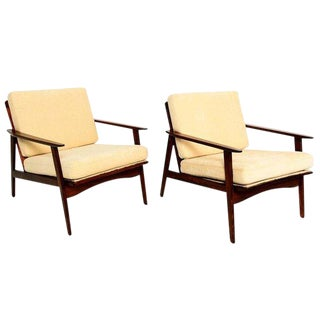 Pair of Scandinavian Easy Chairs