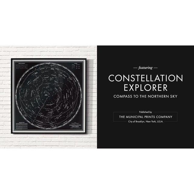 """Constellation Explorer"" Northern Hemisphere Star Chart - Image 3 of 3"