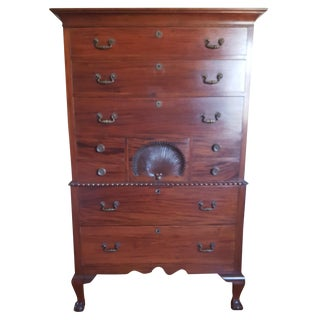 Early 20th Century Mahogany Highboy
