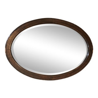 Beveled Mirror in Solid Mahogany
