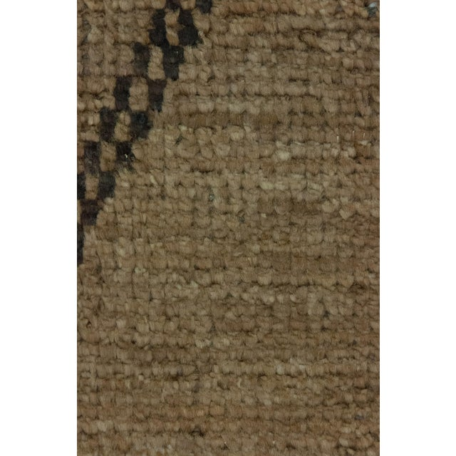 """New Moroccan Hand Knotted Area Rug - 8'3"""" x 10'1"""" - Image 3 of 3"""