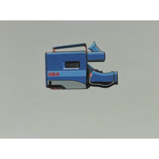 80s Rca Camcorder Painting