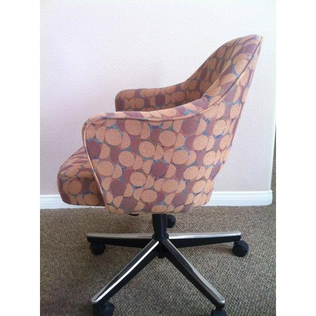 eero saarinen knoll executive arm chair chairish