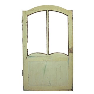 Antique Petite Hand Painted Door