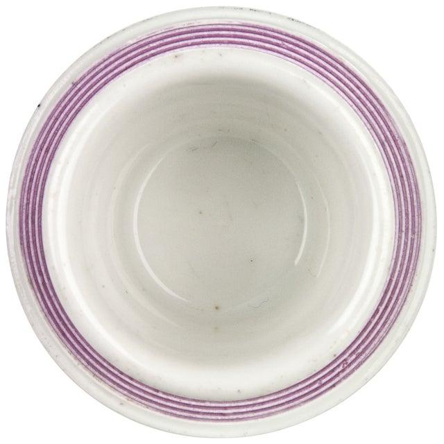 Image of Vintage French Pink Porcelain Match Striker