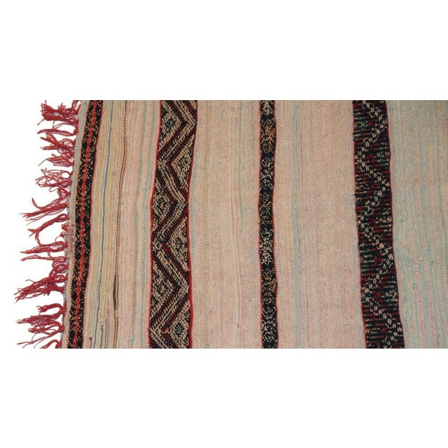 "Vintage Hand Woven Azilal Carpet - 7' X 4'7"" - Image 3 of 4"