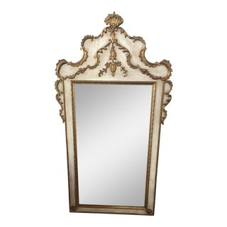 French Wooden Mirror