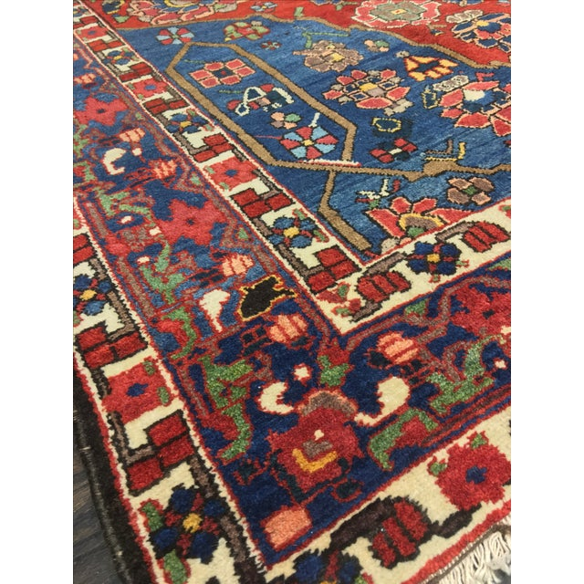 Vintage Persian Bactiari Rug - 6′9″ × 10′2″ - Image 5 of 11