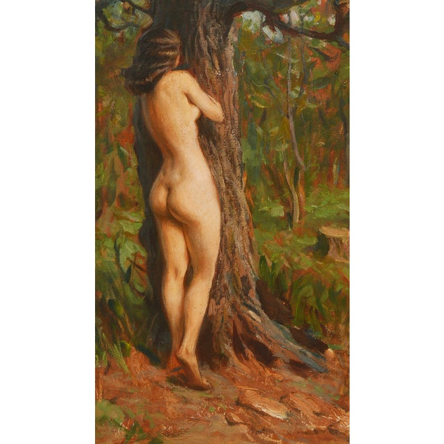 Image of Dorthy Ford Impressionist Nude Woman Painting