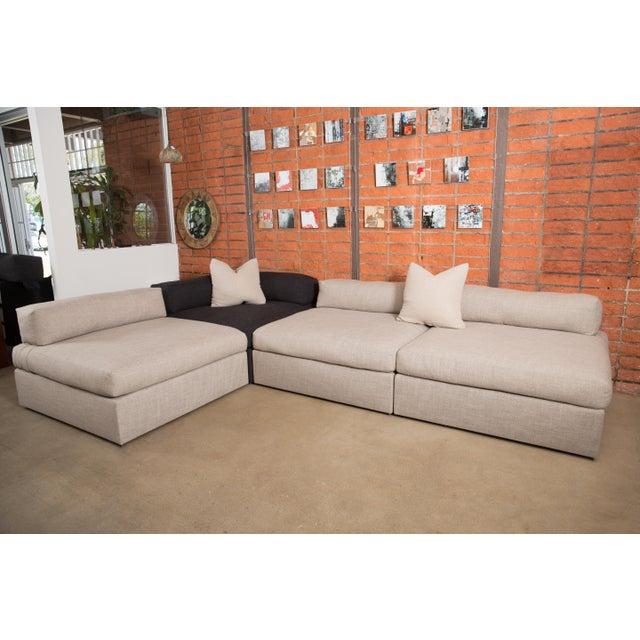 Bauhaus Style Modular Sectional Sofa - Image 5 of 5