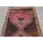Image of Hand Knotted Turkish Runner Rug - 4′6″ × 13′3″