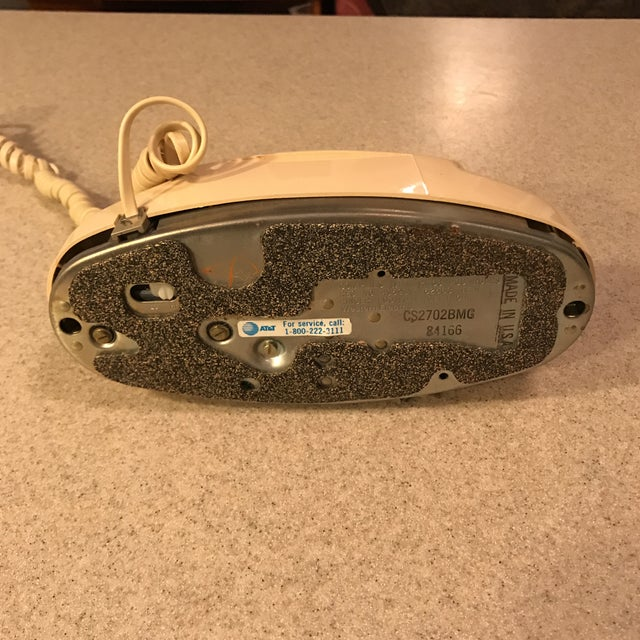 Ivory Western Electric Princess Push Button Phone - Image 9 of 11
