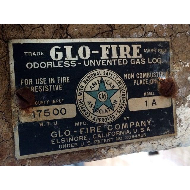 Image of Vintage Faux Fire Log