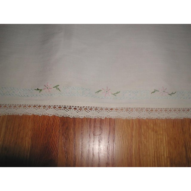 Hand Embroidered Furniture Scarves - Set of 4 - Image 6 of 10