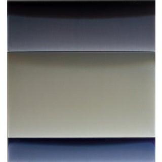 Broken Sky, 2017, Tinted acrylic polymer on panel by Susan English.
