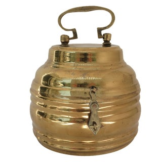 Brass Beehive Warmer