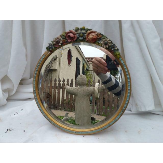 Image of Rose Garland Barbola Mirror
