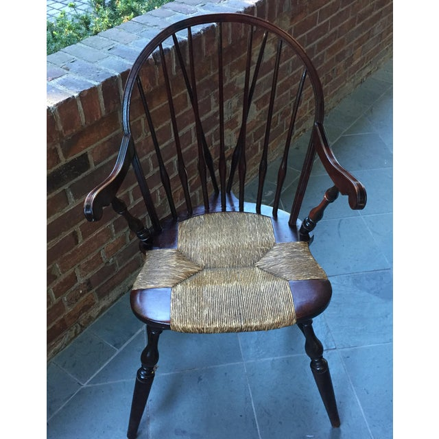 Antique Windsor Bow Chair - Image 2 of 3