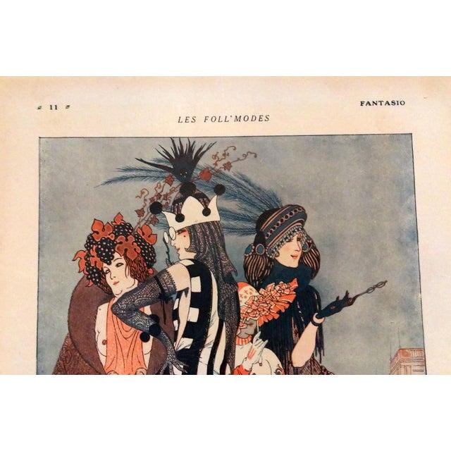 "Image of Armand Valle 1919 Fantasio ""Les Foll' Modes"" Print"