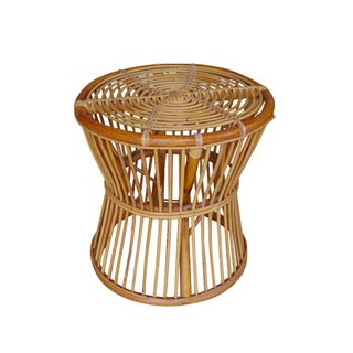Rattan Stool or Side Table