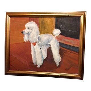 Poodle Pride Oil Painting