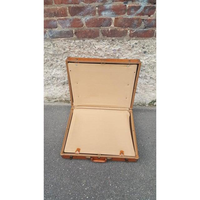 Vintage Samsonite Leather Suitcase - Image 3 of 5