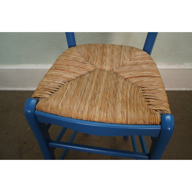 Image of French Country Rush Seat Bar Stools - Set of 3