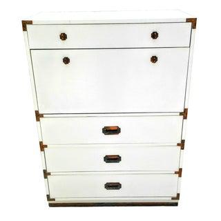 Vintage Mid Century Modern Campaign Bar or Dresser