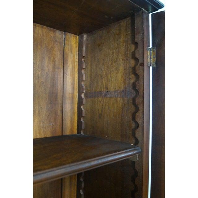 Victorian Walnut Cylinder Roll Secretary Desk - Image 6 of 10