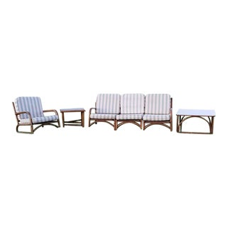 Ficks Reed Sofa & Table Set - Set of 3