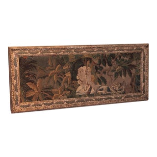 18th Century Framed French Aubusson Tapestry
