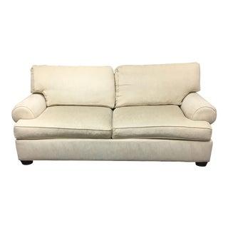 Classic Ethan Allen Ivory Sofa