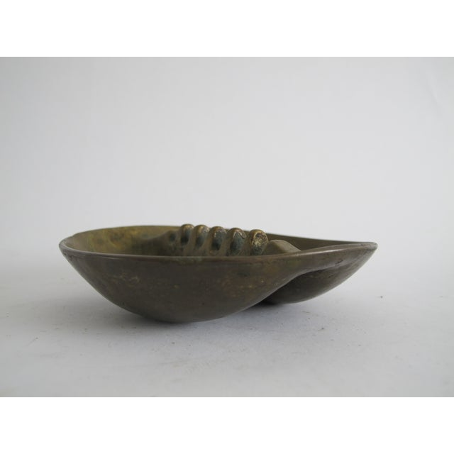 Midcentury Bronze Ashtray - Image 4 of 6
