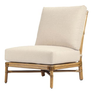Elise Occasional Nutmeg Slipper Chair