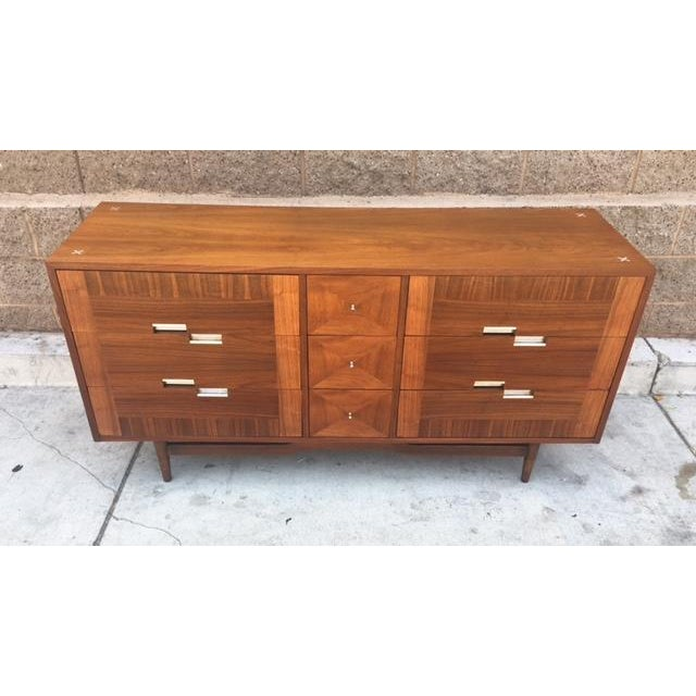 Mid Century Dresser by American of Martinsville - Image 3 of 5