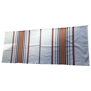 Multicolor Striped Boho Chic Table Runner