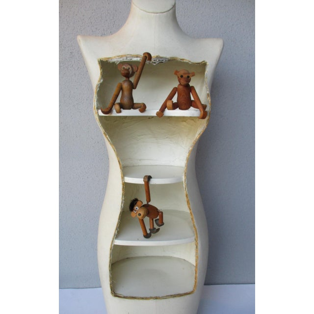 Boho Glam Body Form Mannequin Retail Store Display Shelf - Image 6 of 11