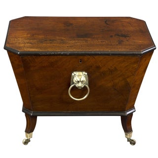 Regency Mahogany Cellarette