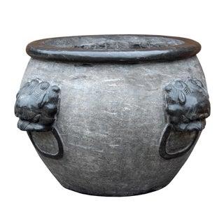Chinese Gray Stone Planter