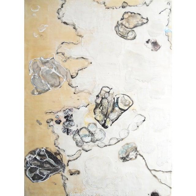 Chrysalis Dawn Modern Encaustic Painting - Image 1 of 6
