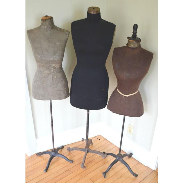Mid-Century Adjustable Seamstress Dress Forms - Set of 3 - Image 8 of 10