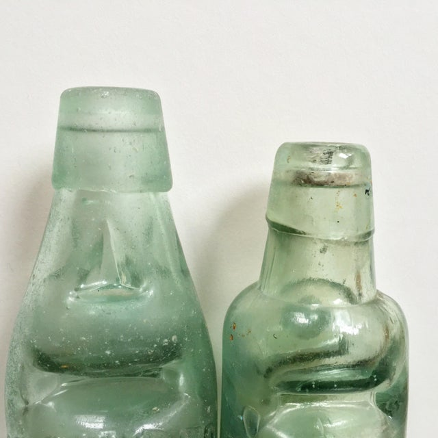 Antique Marble Medicine Bottles - A Pair - Image 7 of 9