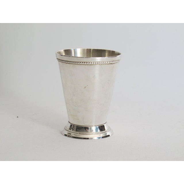 Image of Silver-plated Julep Cups - S/6