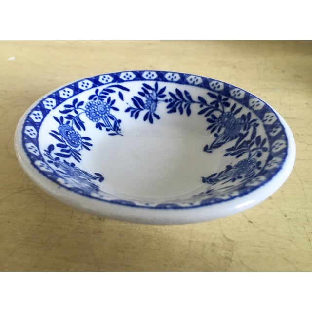 Image of Chinoiserie Blue & White Trinket Dish