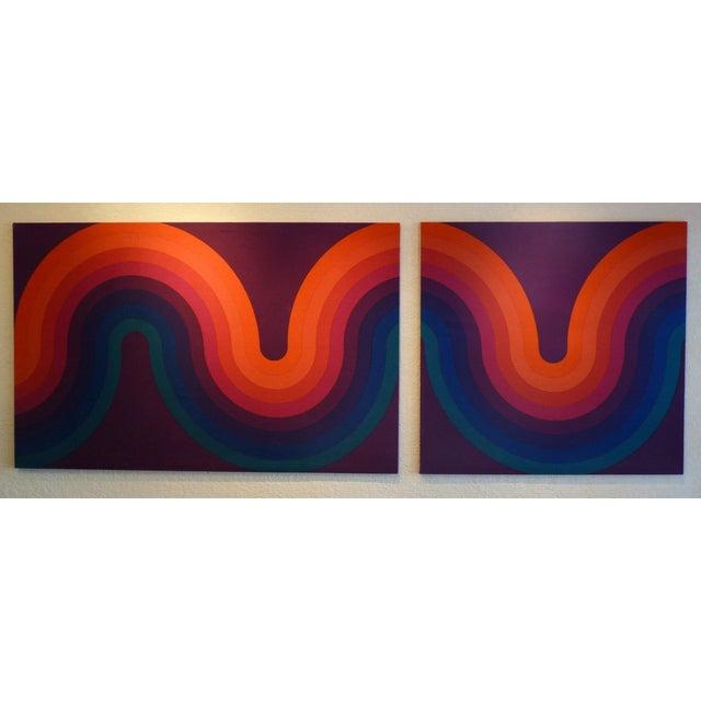 Verner Panton Large Panels - Pair - Image 6 of 6