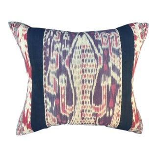 Indonesian Tribal Ikat Pillow