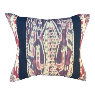 Indonesian Tribal Ikat Pillow